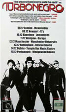 Poster Turbo Negro - UK Tour  ca45x70cm  13629