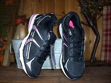 DANSKIN LADIES ATHLETIC SHOES SIZE 8.5 COLOR BLACK PINK WOMENS CASUAL SNEAKERS