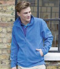 Men's Polyester Hip Length Fleece Coats & Jackets