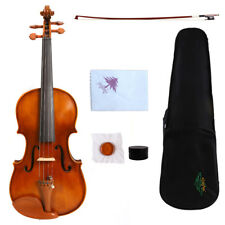 Yinfente Student Violin 3/4 Antique style Maple+Spruce HandMade Free Case Bow