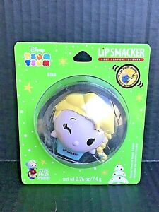 Disney Frozen Elsa Lip Smacker Tsum Tsum Royal Vanilla Bean Lip Balm NEW -UB