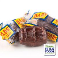 Washburn 4 lb Dad's Root Beer Barrels Bulk Bag Wrapped Old Fashioned Hard Candy