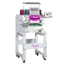 Texi 1501 TS Premium 1 Head, 15 Needles Embroidery Machine-with Solid Frame-NEW