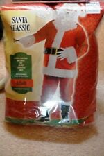 Adult Classic Santa Claus Costume Father Christmas 4 piece Set