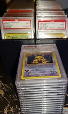 POKEMON CHARIZARD 1ST ED BASE  PSA 9  HOLO AND NON HOLO COMPLETE 102 CARD SET
