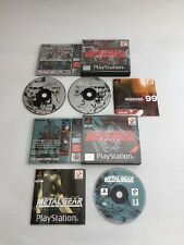 Metal Gear Solid & misiones especiales PS1 PS2 paquete Playstation MGS