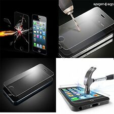 NEW 100% GENUINE TEMPERED GLASS FILM SCREEN PROTECTOR FOR APPLE IPHONE 5 & 5S