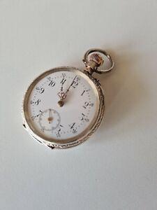 Taschenuhr alt silber pocket Watch