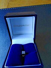 Mens Titanium Diamond 375 DIA Hallmark Stud Earring in Box.