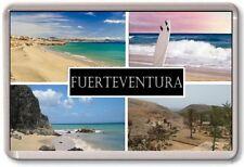 FRIDGE MAGNET - FUERTEVENTURA - Large - Spain Canary TOURIST