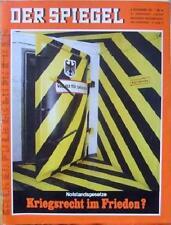 SPIEGEL 46/1967 Die Notstandsgesetze
