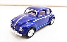 """Volkswagen Beetle Classic 1967 Bleu 1/64 """"3 Inche"""" Diecast NEUF"""