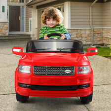 Red 12V Kids Ride On Car Mp3 Truck Remote Control Battery Wheels W/ Led Lights