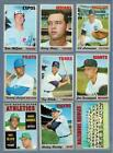 1970 TOPPS  BASEBALL EXMT to NRMT COMPLETE YOUR SET - U PICK ANY TEN