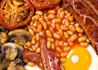 Tasty Cooked Breakfast Poster Size A4 / A3 Delicious Food Art Poster Gift #8668