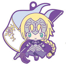 Fate Grand Order X Sanrio Saber Jeanne D'Arc Rubber Key Chain