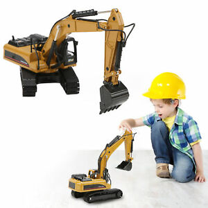 1/50 Scale Engineering Excavator Model Alloy Construction Vehicle Static Toy