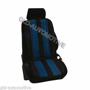 Schienale Fibra naturale Fresco Blu Sedile Auto Coprisedile Universale