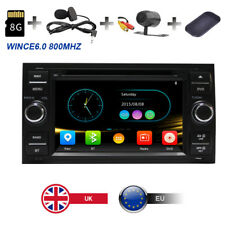 Car Radio DVD Player Stereo GPS SatNav 3G Bluetooth Ford Transit/Galaxy/Kuga UK