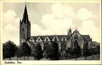 Paderborn Nordrhein-Westfalen alte AK ~1920/30 Dom Kirche Kathedrale ungelaufen