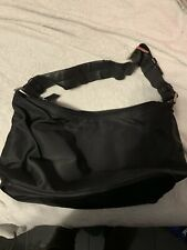 Authentic PRADA Black Tessuto Nylon Shoulder Bag Small