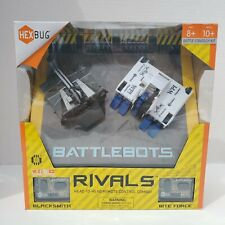 HEXBUG BattleBots Rivals 4.0 (Blacksmith and Bite Force) Toy Kids Battle Bot Hex