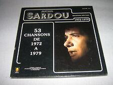 MICHEL SARDOU COFFRET 4 33 TOURS DE 72 A 79