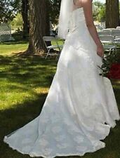 davids bridal wedding dress size 12