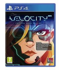 Velocity 2X: Critical Mass Edition [Sony PlayStation 4 PS4, Shoot 'em Up] NEW