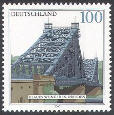 "Germania 2000 ""Blue Wonder"" BRIDGE/strada/Trasporto/ARCHITETTURA 1v (n29644)"