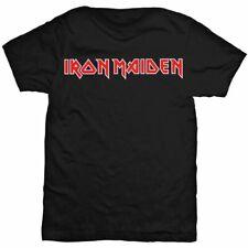 IRON MAIDEN Logo Mens T Shirt Unisex Official Licensed Band Merch