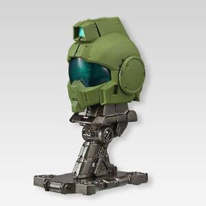 Bandai Machine Head Vol.2 Mobile Suit Gundam No.001 GM Sniper Figure Helmet
