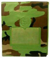 Vintage U.S Army Equipment Record Folder Military Document