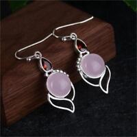 mondstein ohrringe chalcedony von ruby opal stein edelstein - ohr - hengst