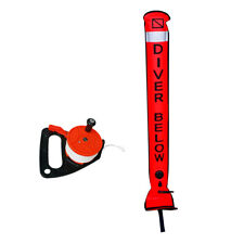 New listing Scuba Diving Snorkeling SMB Surface Marker Buoy with Multi-Purpose Dive Reel
