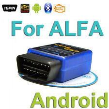 For ALFA ROMEO OBD 2 Android Scanner Diagnostics Reader Wireless Bluetooth Tool