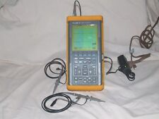 FLUKE 97 SCOPEMETER, DUAL CHANNEL 50MHz  with PROBES & POWER SUPPLY