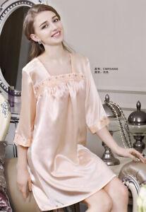 Pure 19MM Silk Women Short Sleeves Slips 5A006