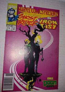 Marvel Comics Ghost Rider and Iron Fist & Wolverine #118