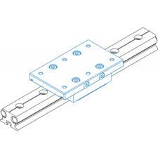 Linear Bearing  ISEL Germany LFS-12-10 Dual Rail Guide Used Actuator Bearing