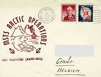 Polarpost - CGC WESTWIND - MSTS ARCTIC OPERATIONS - 1960