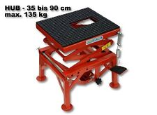 Motorcycle Workbench Hydraulic Lift Bike ATV Stand Jack Table Bench 300lb 135kg