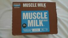 (12) Bottles Muscle Milk Light Non Dairy Low-Fat Protein Shake 17 Oz Chocolate