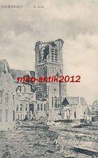 AK, Foto, Belgien, Flandern, Paschendaele - zerstörte Kirche, 1916; 5026-79