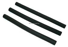 SMOOTH or ROUGH - LONG BUGGY HANDLE BAR FOAM GRIP COVER BLACK PUSHCHAIR STROLLER