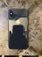 Apple iPhone X - 64GB Space Gray - Cracked Front Screen - Works, Unlocked