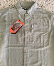 Men's Xxl Short Sleeve Shirt- Sun Protection - Vented- Fishing, Camping