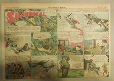 Superman Sunday Page #194 by Siegel & Shuster from 7/18/1943 Half Page:Year #4!