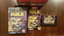 The Incredible Hulk Complete Sega Mega Drive PAL (Genesis) Game CIB