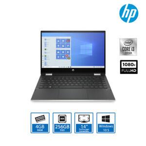 "HP Pavilion x360 Touchscreen Laptop Core i3-1005G1 4GB RAM 256GB SSD 14"" FHD IPS"